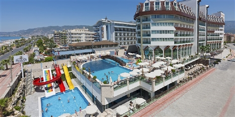 ASIA BEACH RESORT HOTEL (deschis 2016) - Alanya