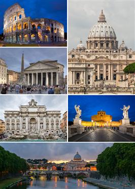 Italia - Cele mai frumoase orase 2019 (autocar) - Roma
