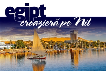 PASTE 2019 EGIPT-CROAZIERA PE NIL! - Plecare din Bucuresti - Cairo