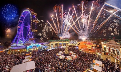 Ungaria, Austria, Germania, Cehia, Slovacia 2018 - Piete de Craciun - Vienna